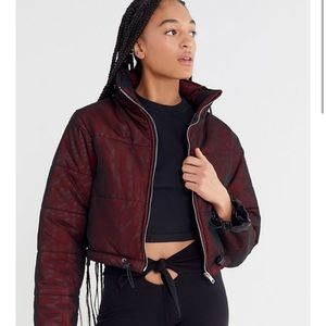 I AM GIA Road Warrior Cropped Puffer XS
